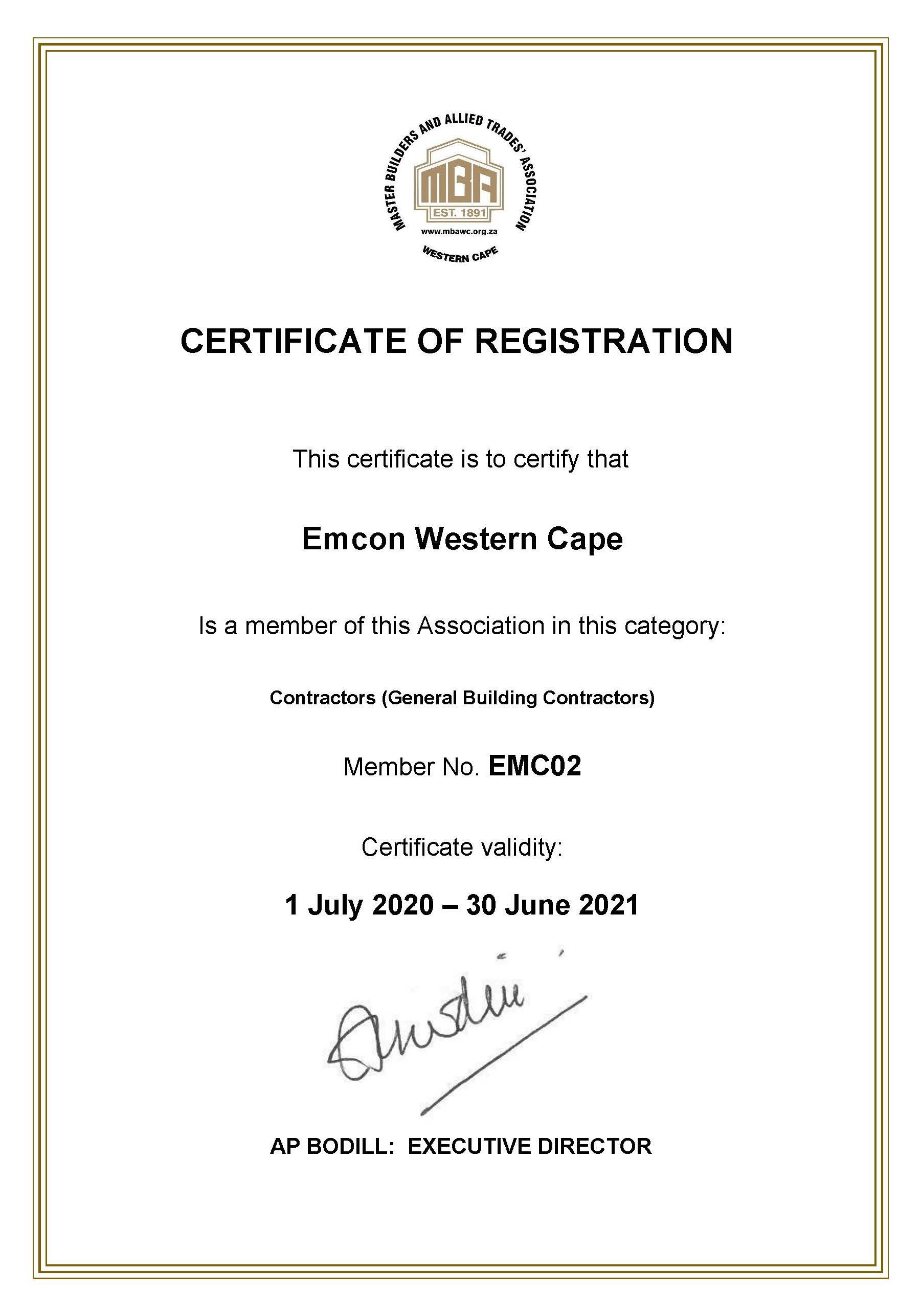MBAWC _ Membership Certificate _ Emcon_2020